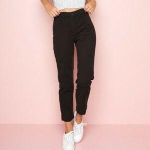 Black brandy Melville stretchy pants